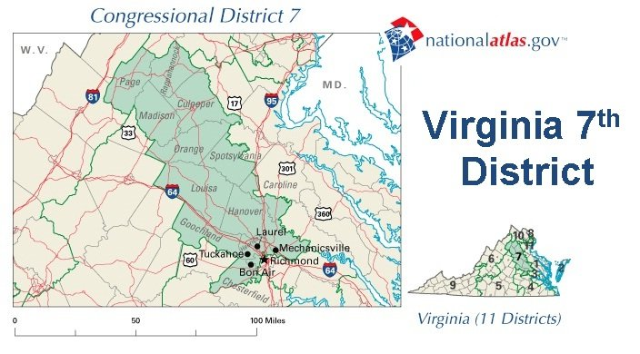 Virginia Congressional District Map Bnhspine Com