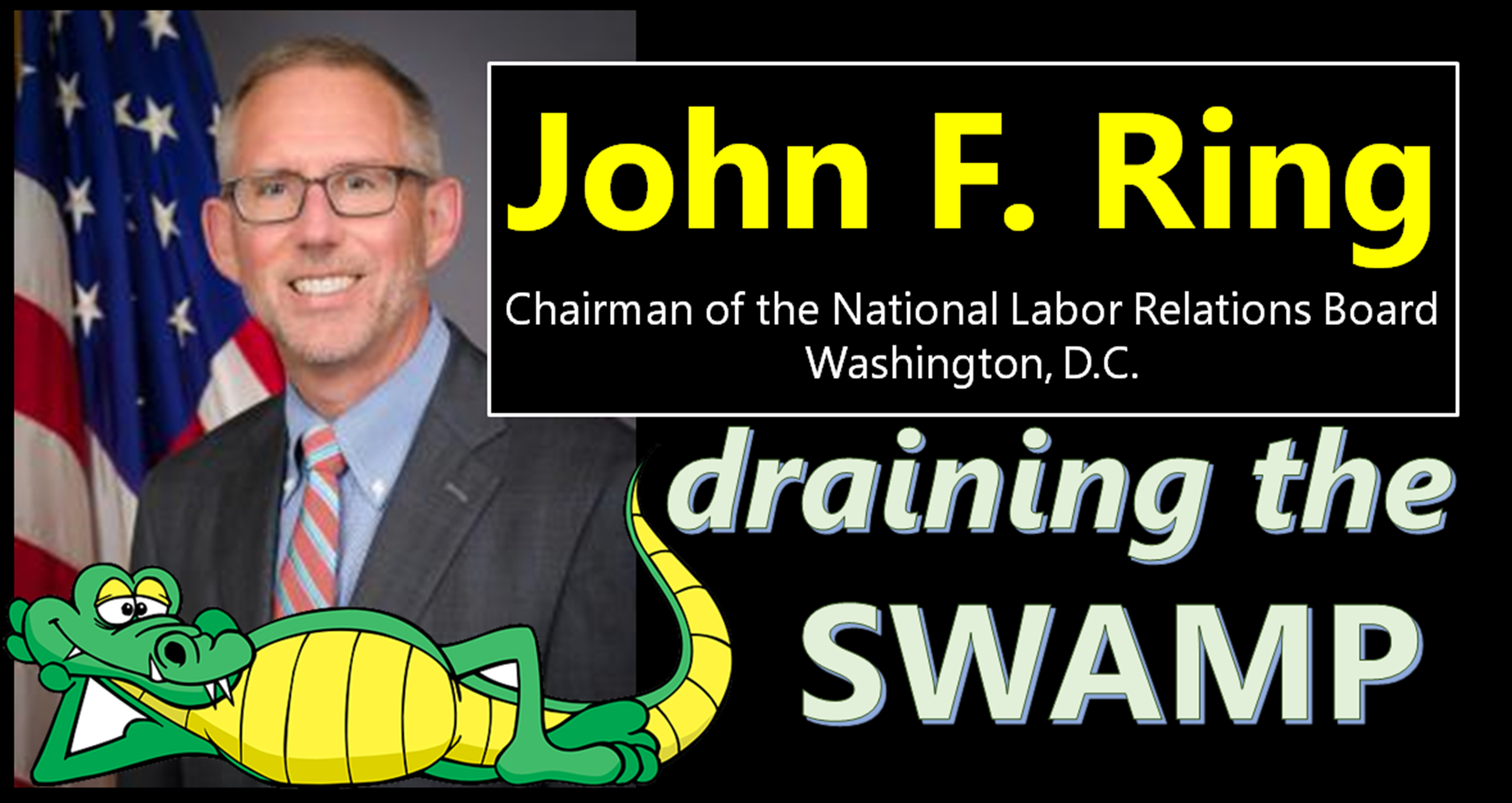 John F Ring - NLRB Chairman