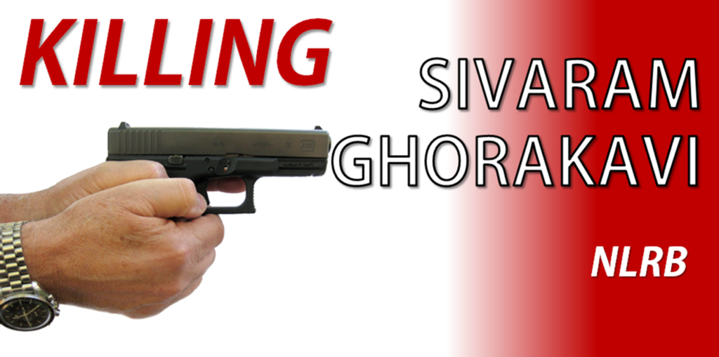 Killing Sivaram Ghorakavi
